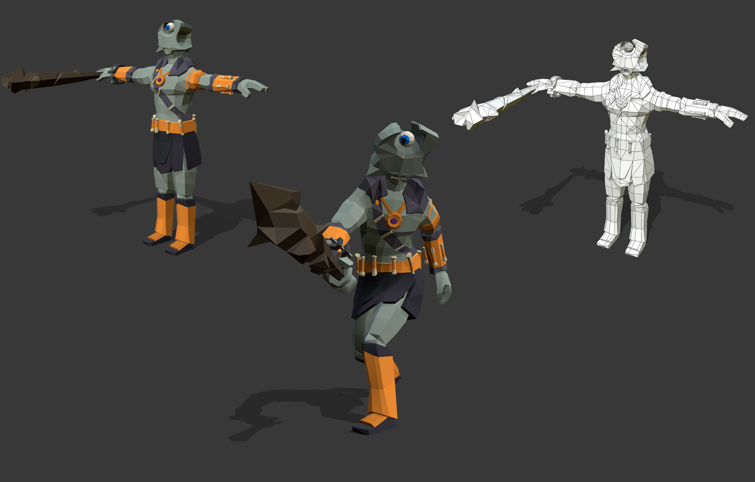 3D Low Poly Character